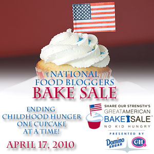 National Food Bloggers' Bake Sale