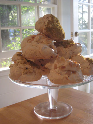 Rock Star Almond Meringues