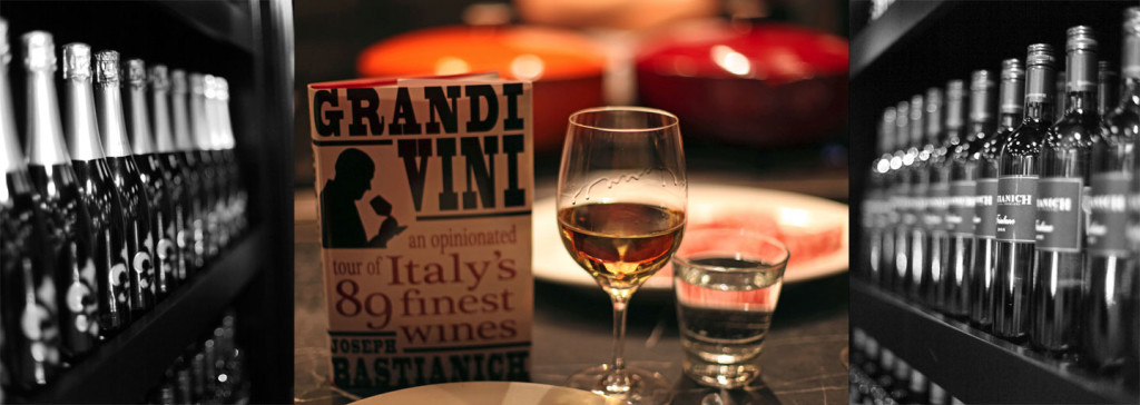 Bastianich new book with wine from Friuli and Flor