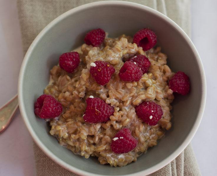 Farro For Breakfast