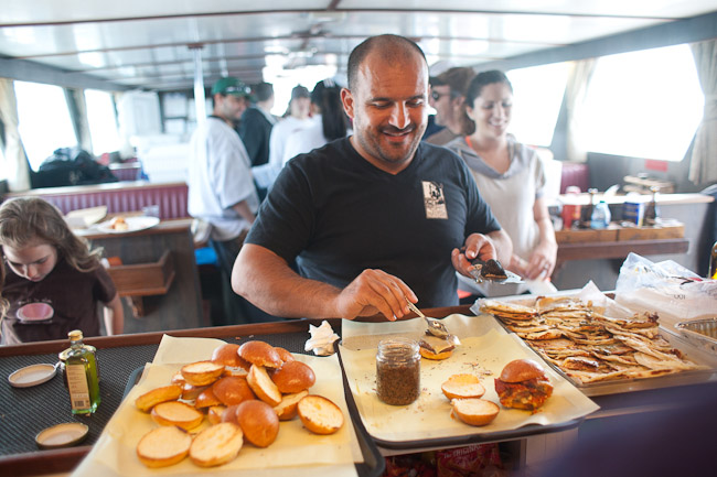 Go Fish 2017 - L A's Best Chefs on board for Fishing Fun