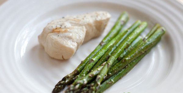 Pacific Halibut and Asparagus
