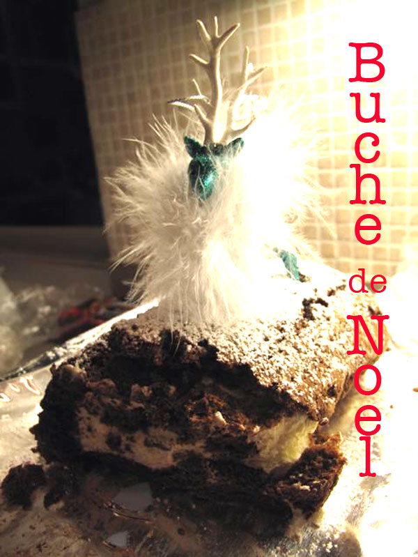 Flourless Chocolate Roulade – Buche de Noel Recipe