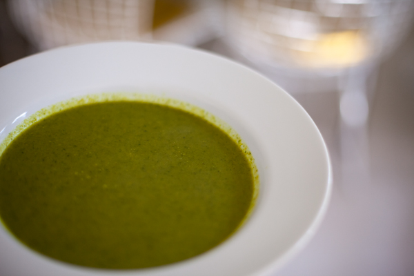 "Baby Kale Soup Recipe with ""Indian stuff"""