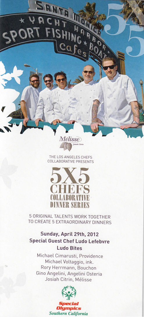 5×5 Chefs Collaborative