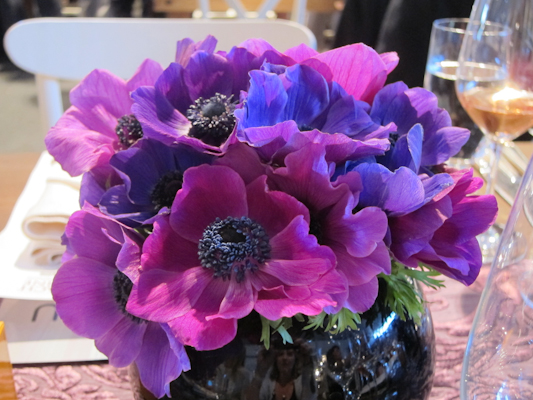 Pebble Beach Food & Wine - Daniel Boulud - table decor