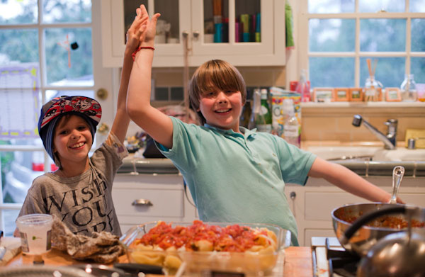 Rachou/Bastianich – Chefs of the Future?