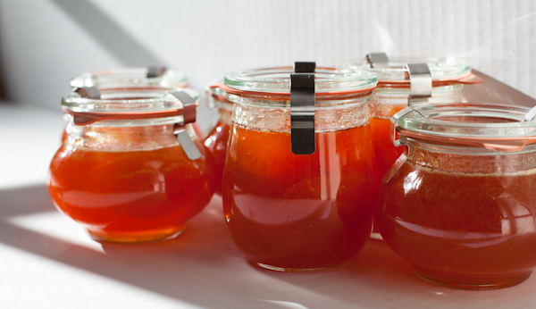Apricot Jam Recipe Fit for the Queen