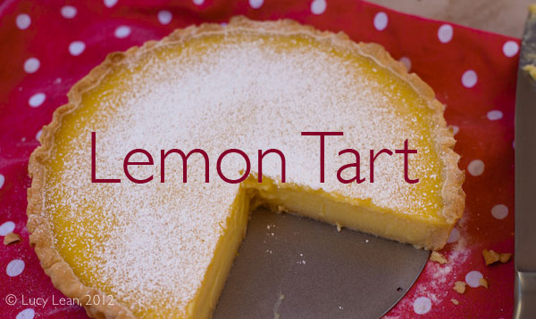 Easy as Pie Lemon Tart