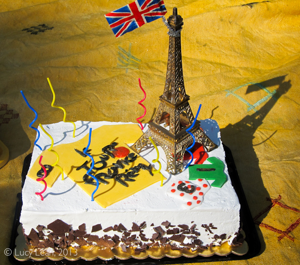 Tour de France Birthday Party