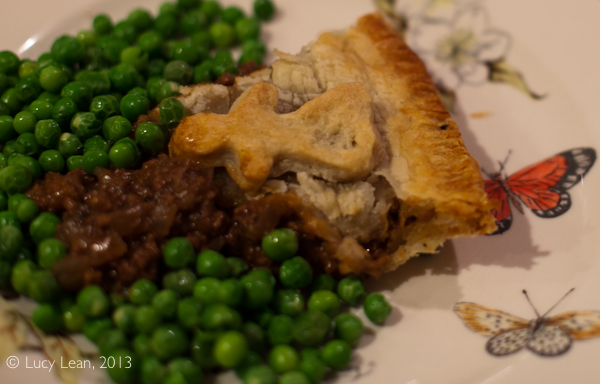 Australian Meat Pie Challenge – recipe