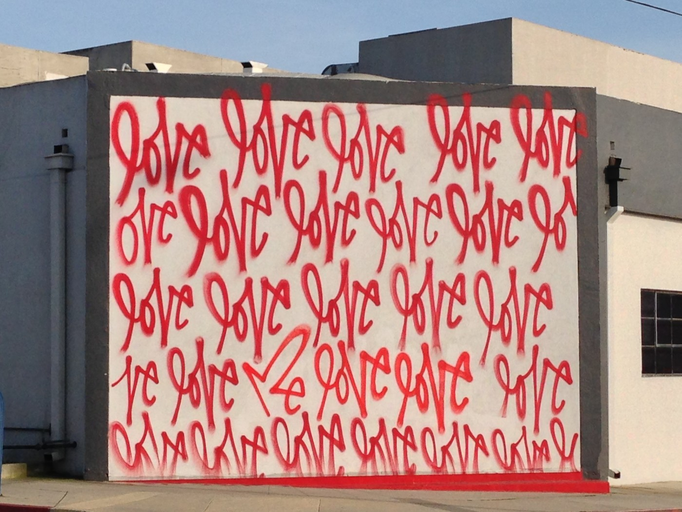 Love - graffiti Culver City