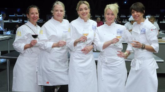 All-Star Chef Classic - lunch Nancy Silverton, Nancy Oakes, Waylynn Lucas, Naomi Pomeroy, Dominique Crenn