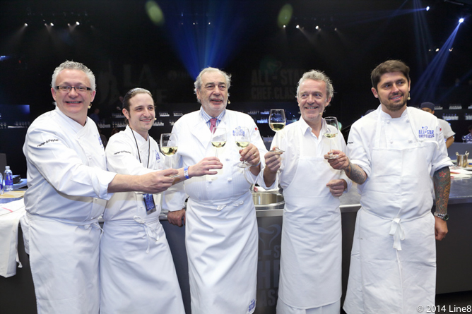 AllStarChefClassic - Five French Chefs for French Masters Dinner