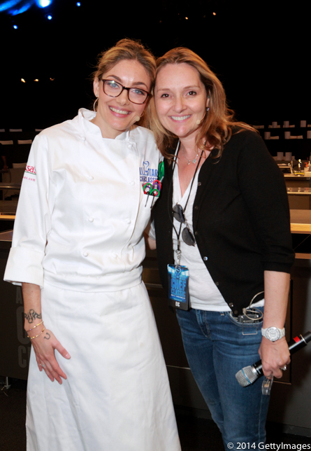 Waylynn Lucas and Lucy Lean at All-Star Chef Classic
