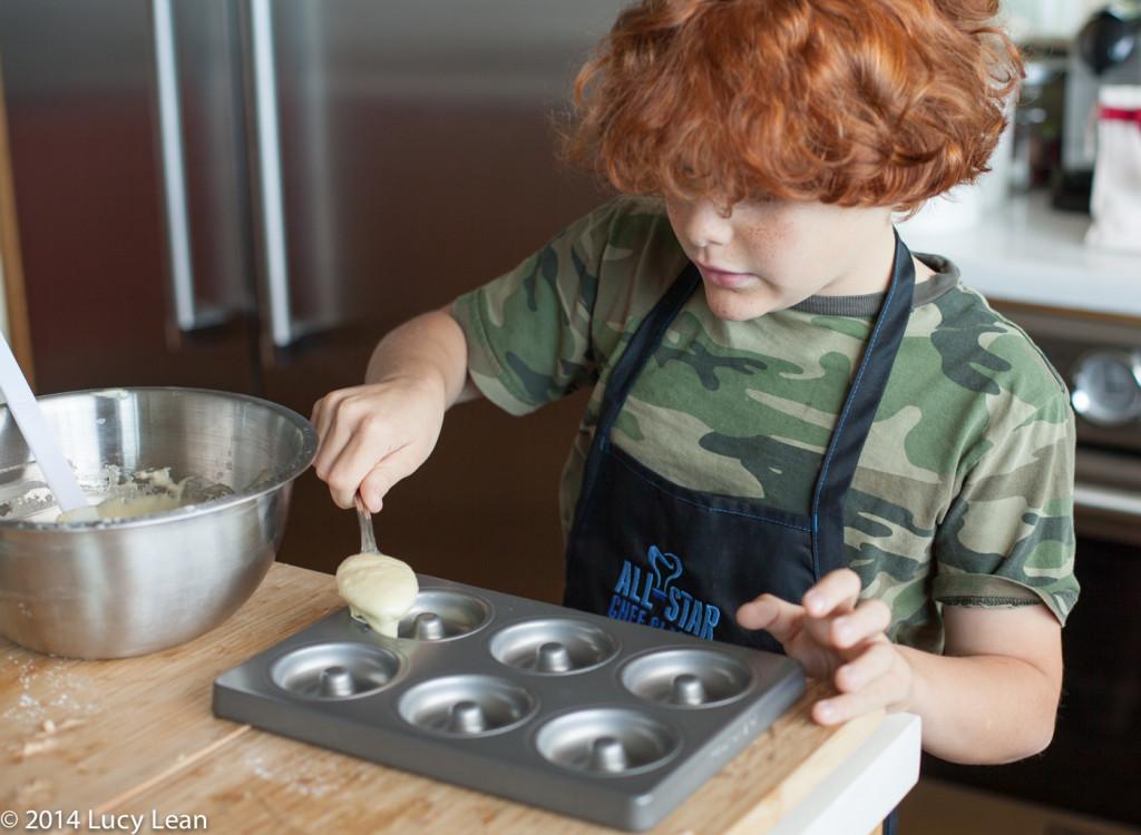 Remy baking fonuts - Kitchen Aid pan
