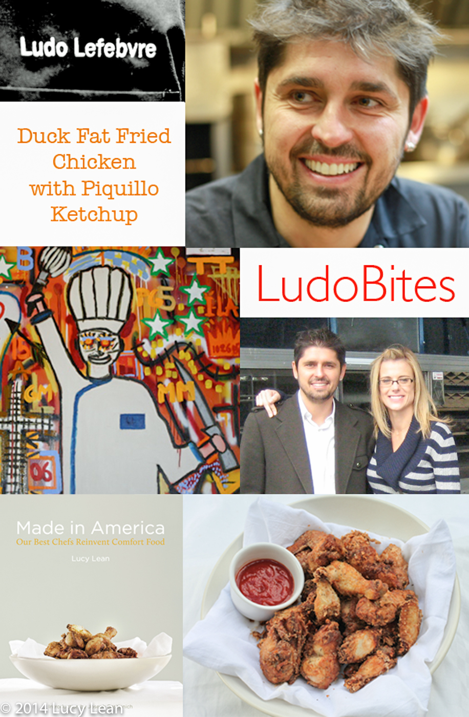 Ludo and Krissy Lefebvre Fried Chicken Made in America