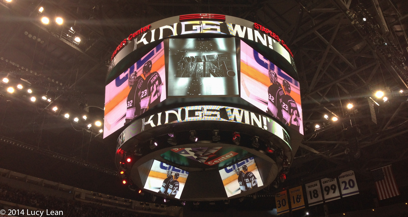 LA Kings win!