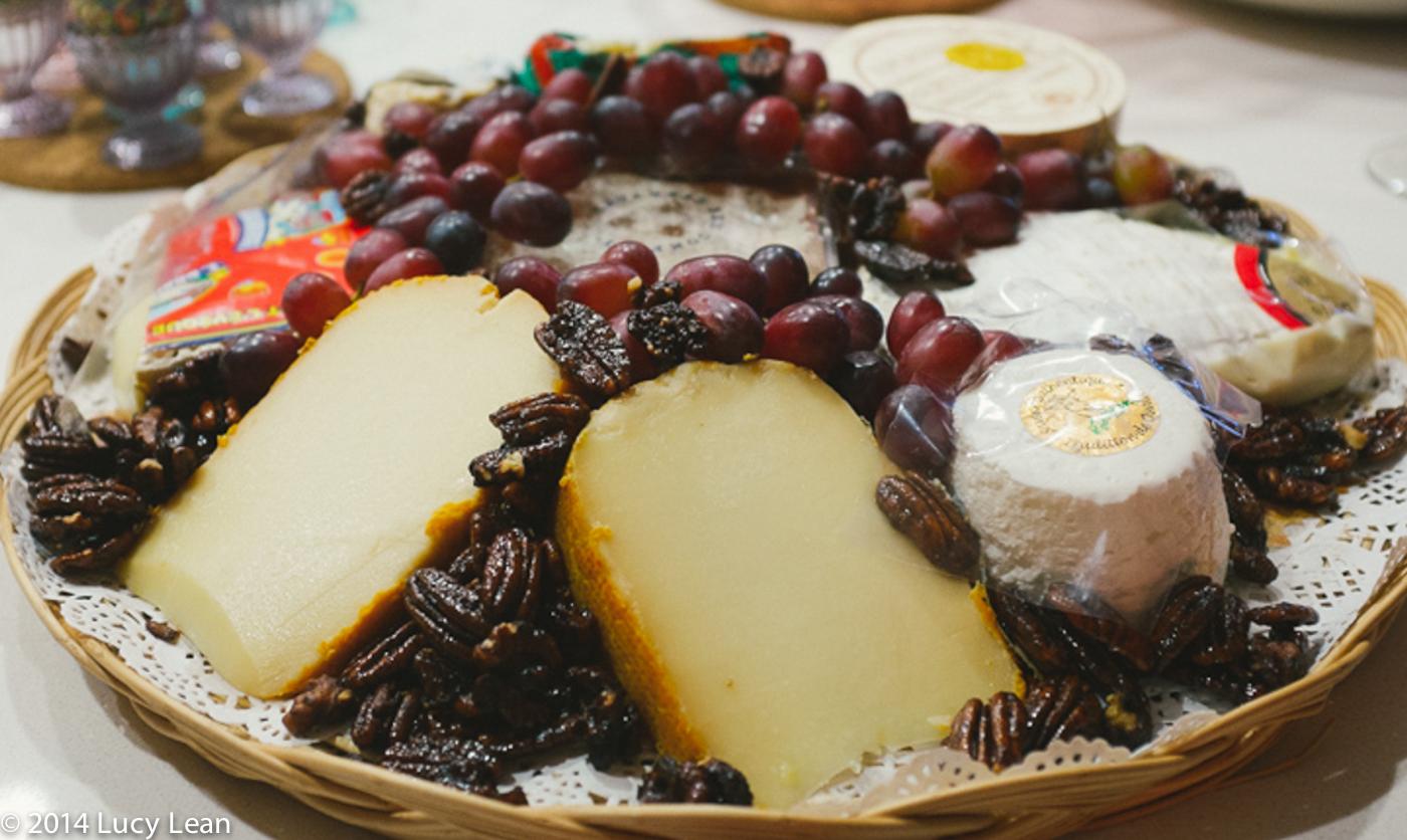 Beverly Hills Cheese Store cheese platter