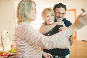 Ilse Ackerman, Lisa Borgnes Giramonti and Piero Giramonti