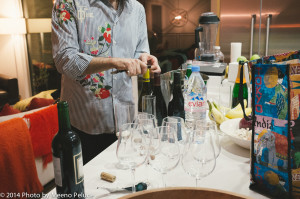 didier opens wine