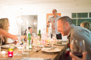 Caroline Wheeler, Didier Rachou and Emma Fairley and trevor Gilchrist - Didier makes a speech