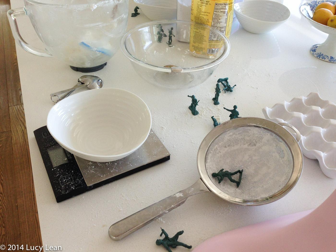 kitchen war zone