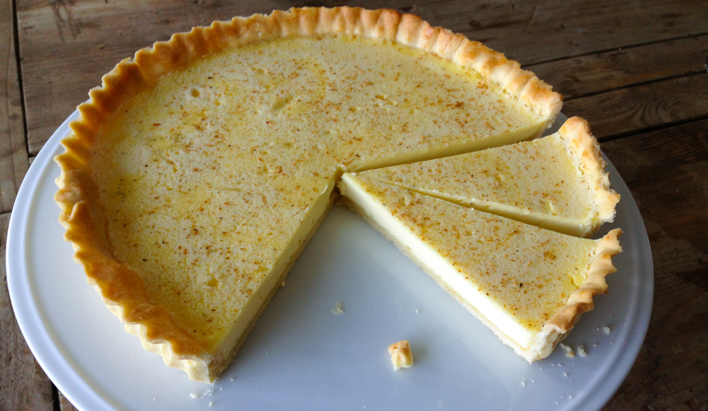 custard tart cut Custard Tart - Pastry Wands Lucy Lean