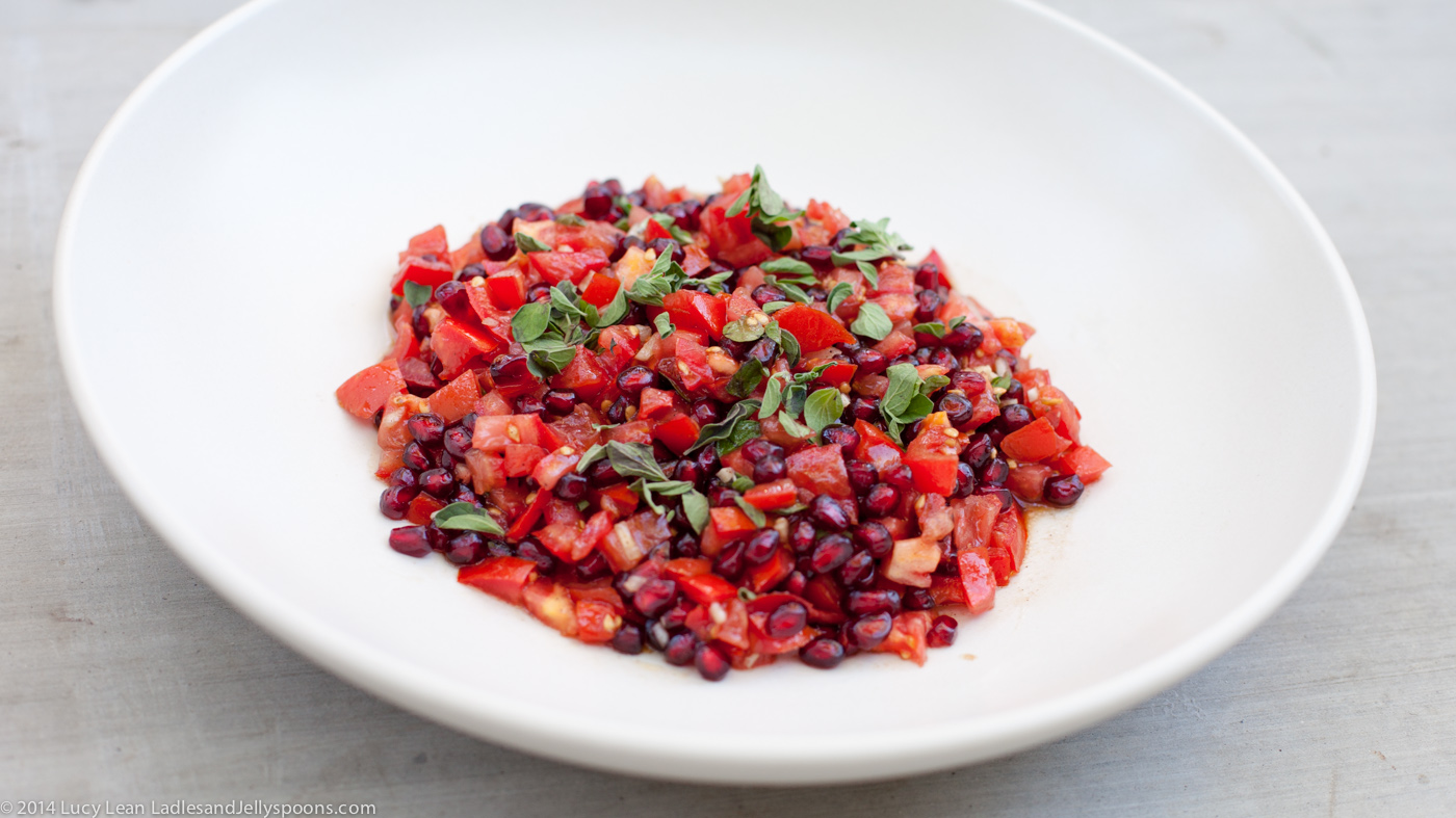 Chef Yotam Ottolenghi's Heart Healthy Pomegranate Salad