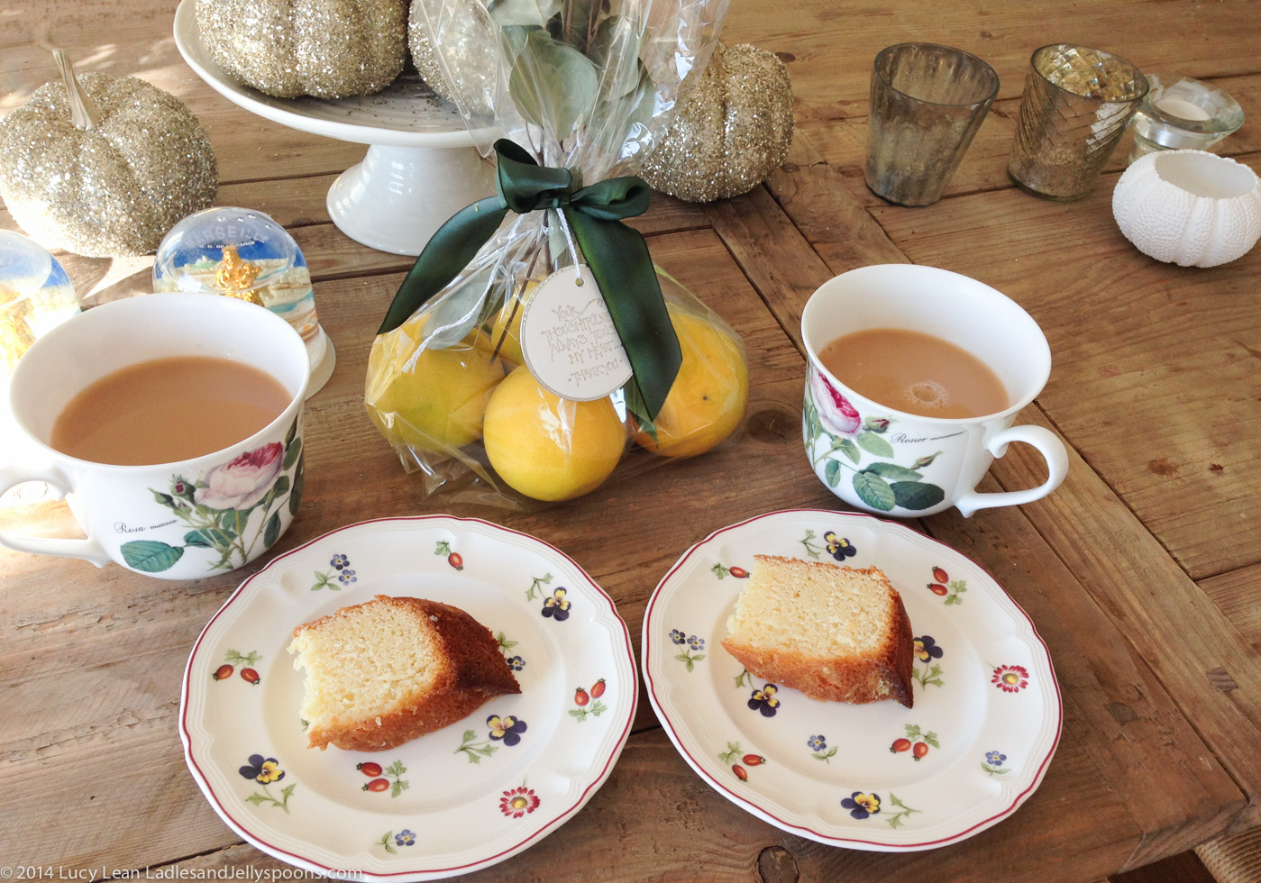 Lucy's Lemon Drizzle Cake – when life gives you lemons