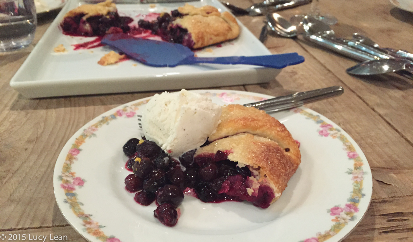 Michelle Branch Blueberry Galette