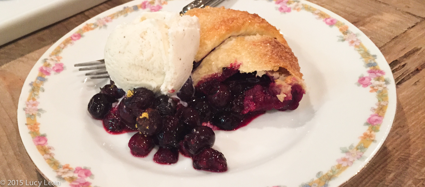 Michelle Branch's Blueberry Galette – Celebrating Release of Hopeless Romantic