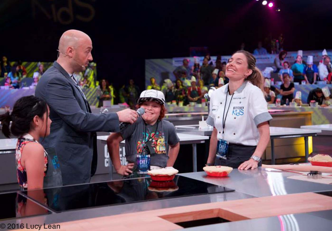 Pi Day Pie All-Star Chef Classic Lucy Lean, Waylynn Lucas, Joe Bastianich