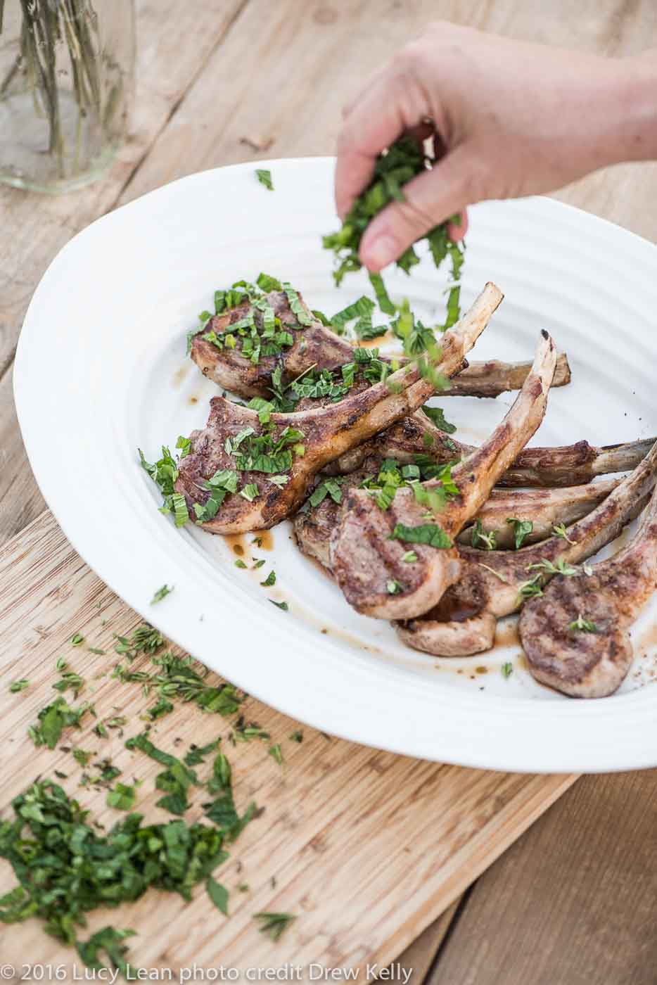Grilled Lamb Chops Easy Entertaining