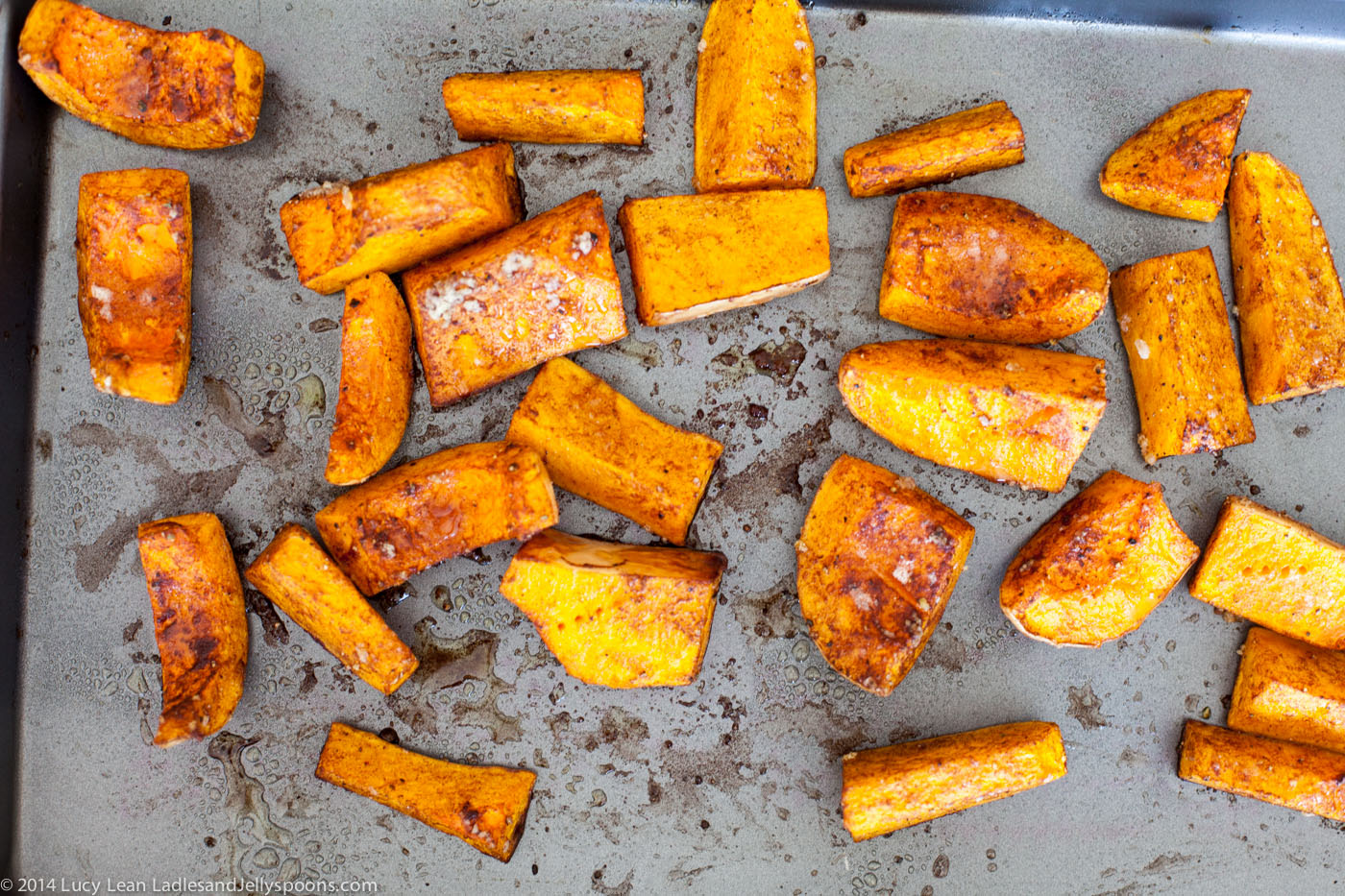 Healthy Ottolenghi Roasted Butternut Squash