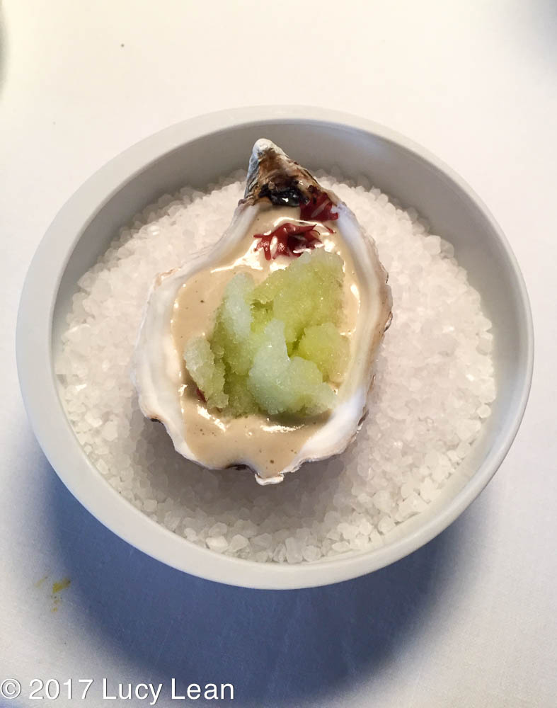 Worlds No1 Restaurant Menu Osteria Francescana Oyster