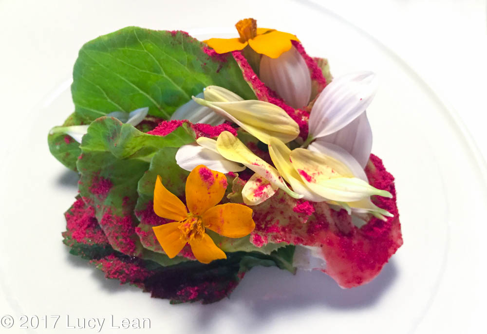 Worlds No1 Restaurant Menu Osteria Francescana Caesar Salad