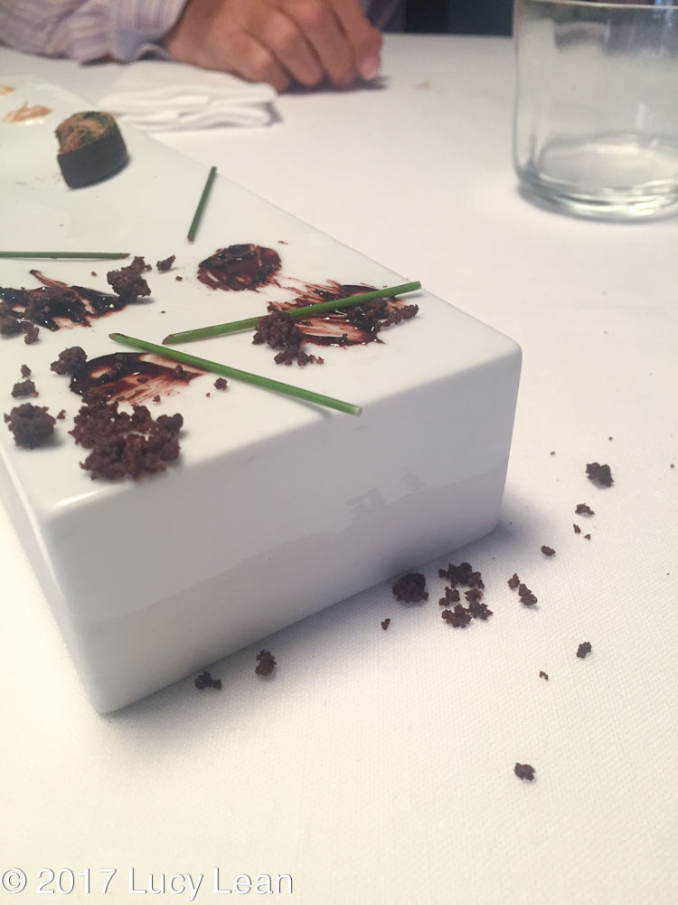 Worlds No1 Restaurant Menu Osteria Francescana petit fours