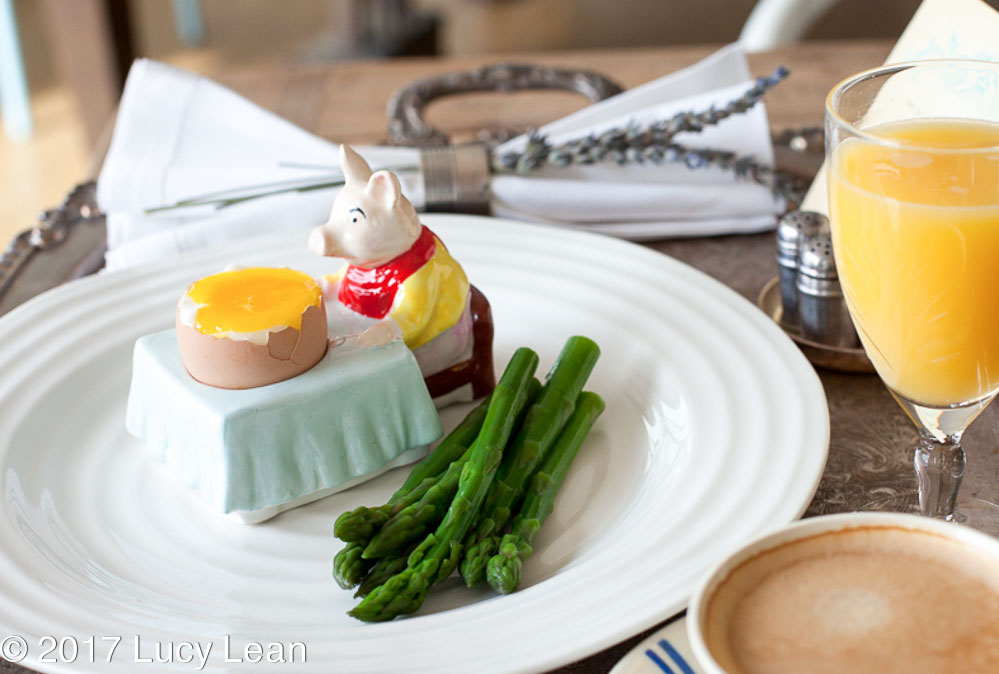 boiled egg asparagus Lean Luxury Breakfast Tray