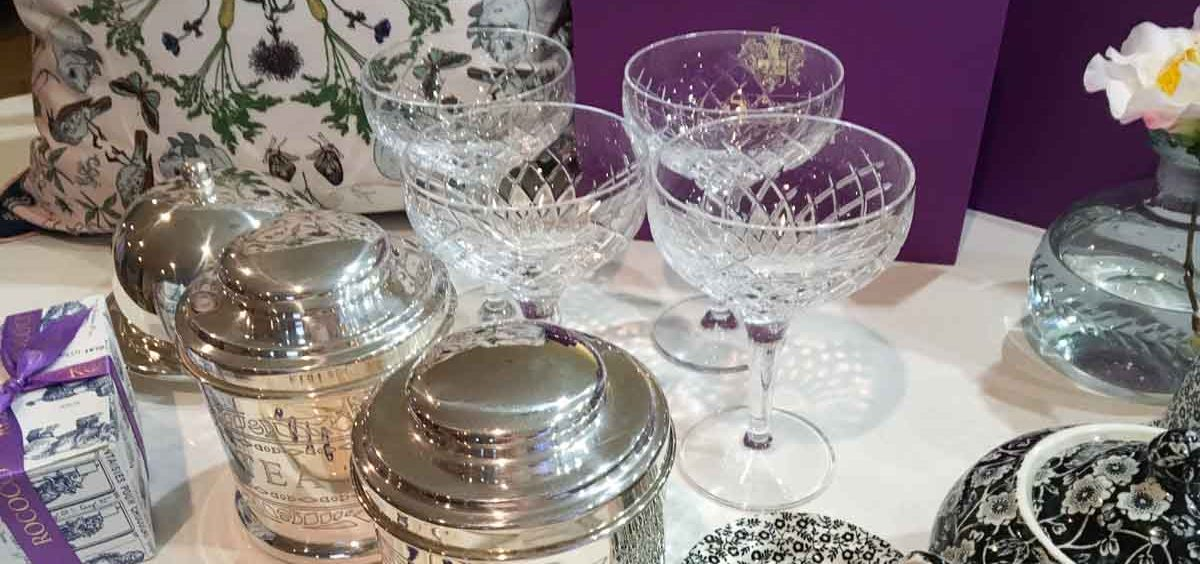 Rosé Corner - Easy Entertaining at Home Lucy Lean - Soho Home glassware