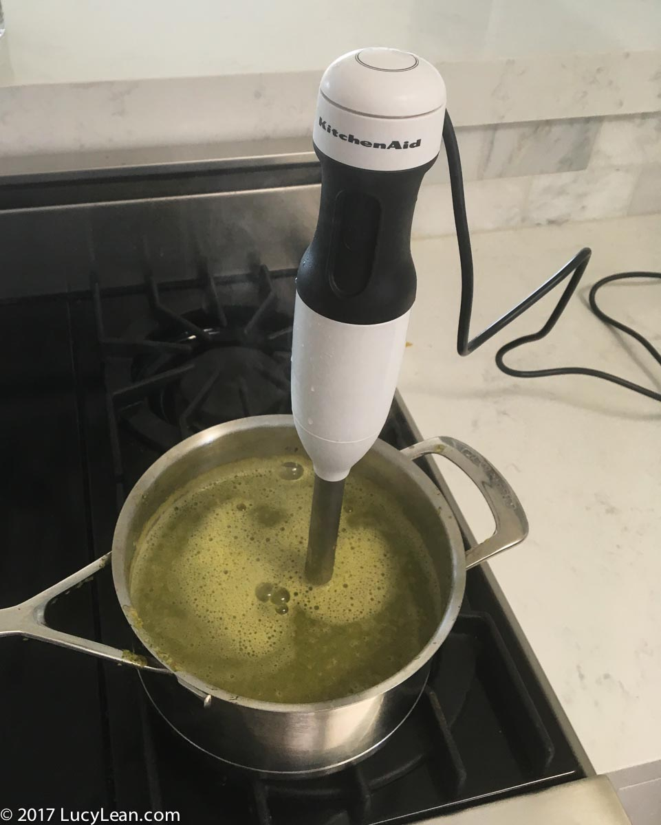 Leftovers Vegetable Soup Kitchenaid Immersion Blender