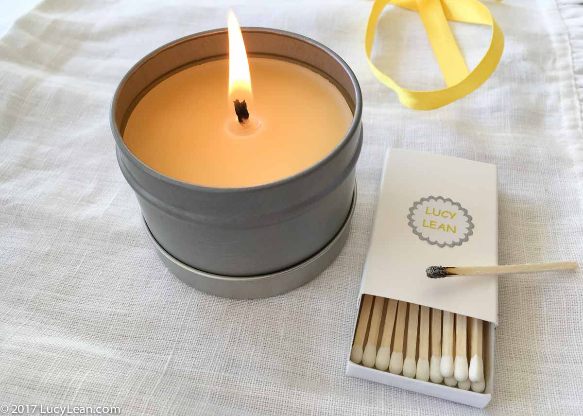 Beeswax Travel Candle – an easy gift to make and give