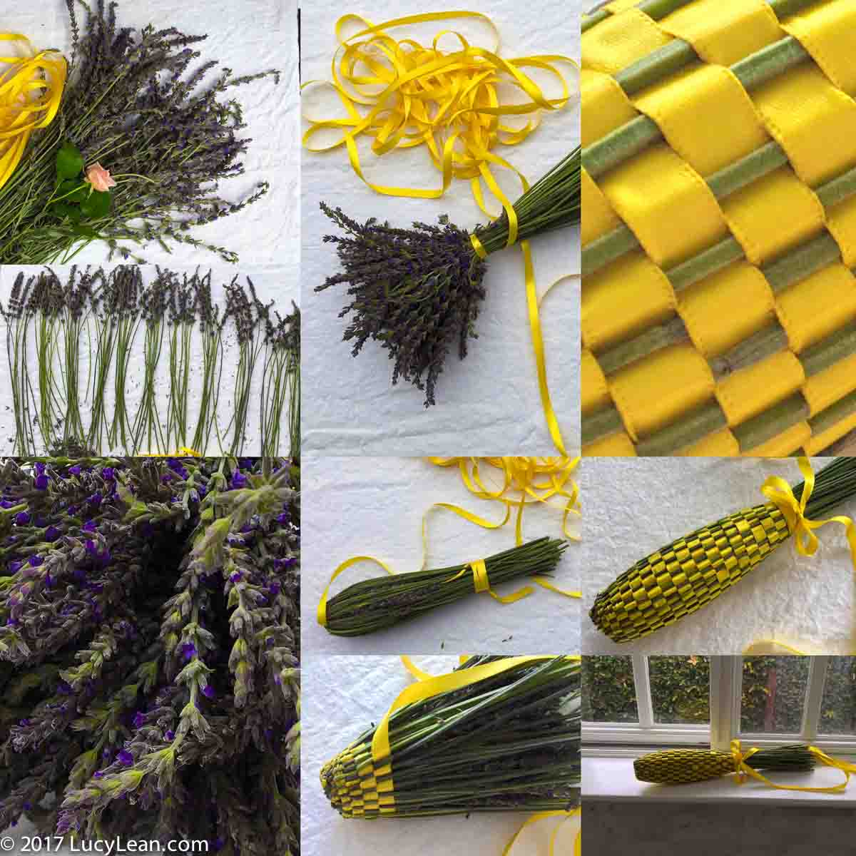 How to Make Fuseaux de Lavande – Lavender Wands to remind me of Provence