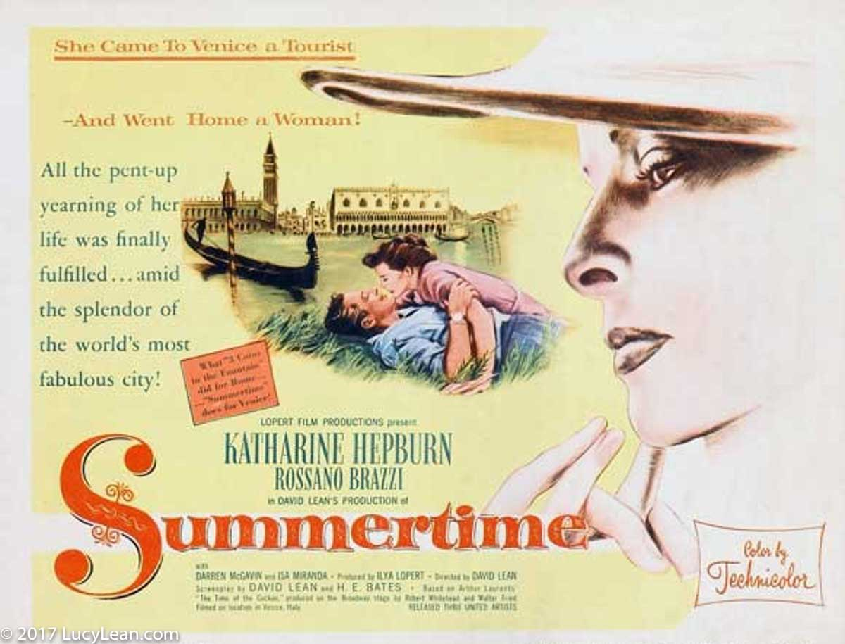 Summertime - Eat the Ravioli - Katherine Hepburn - Venice