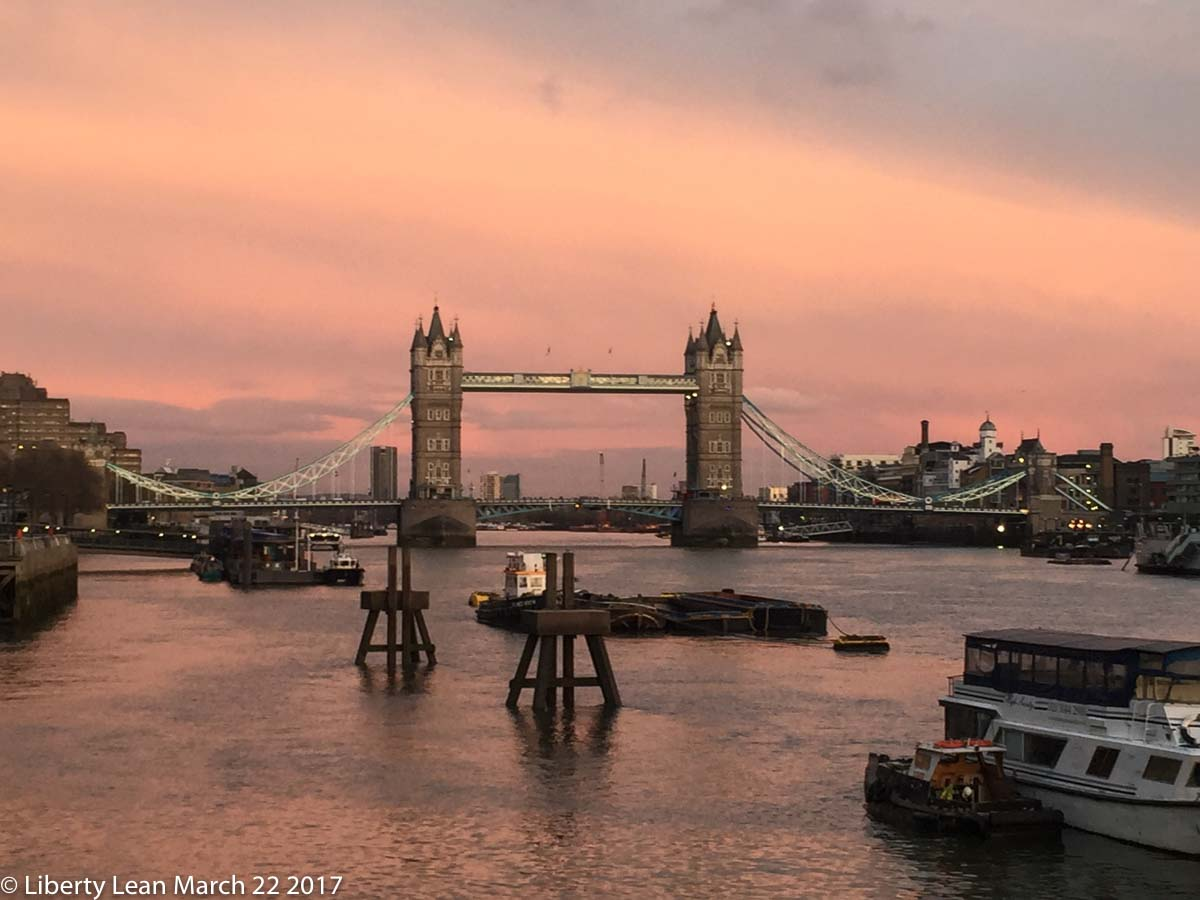 Beautiful London Photo by Liberty Lean of Tower Bridge Lucy Lean