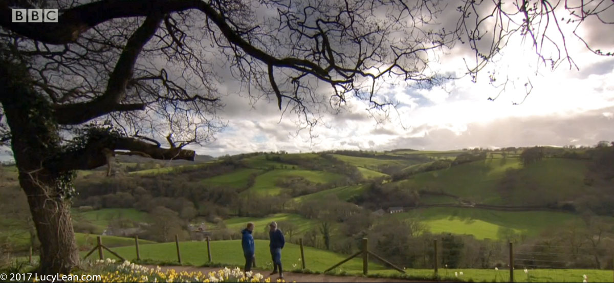 BBC Countryfile visits the White Parks on the Farm