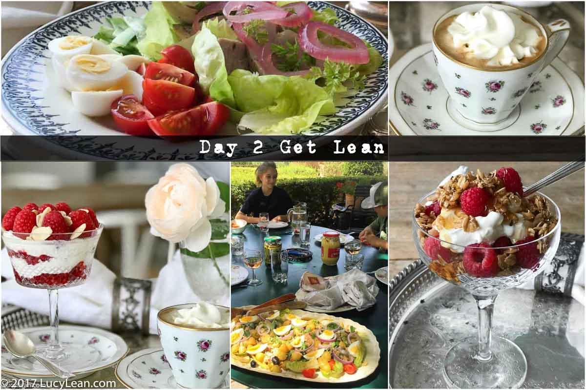 Day 2 Delicious 40 Day Diet – Café con Panna