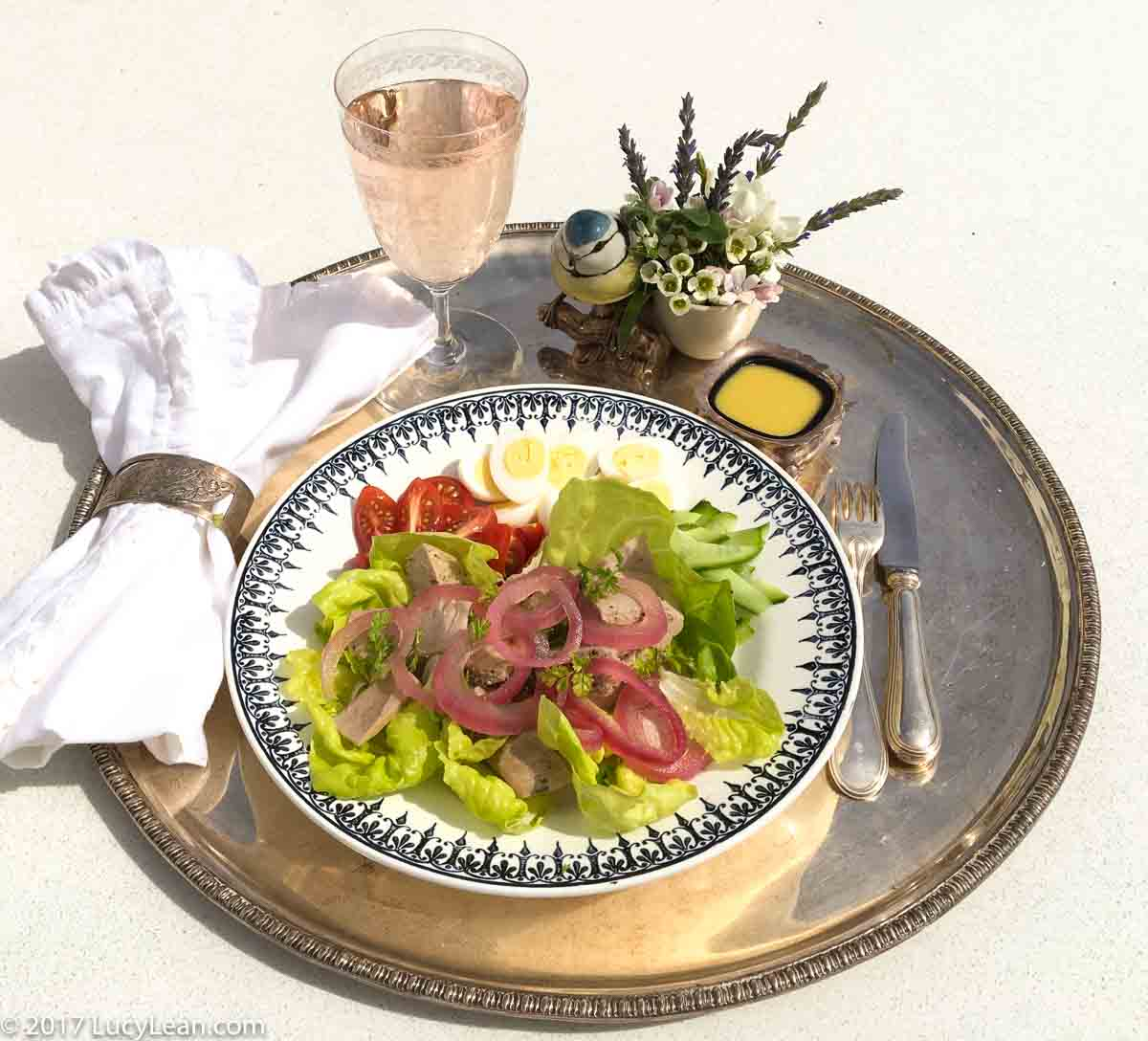 Lean Luxury Salade Niçoise with Poached Tuna | Lucy Lean