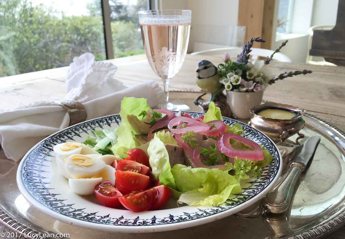 Lean Luxury Salade Niçoise with Poached Tuna