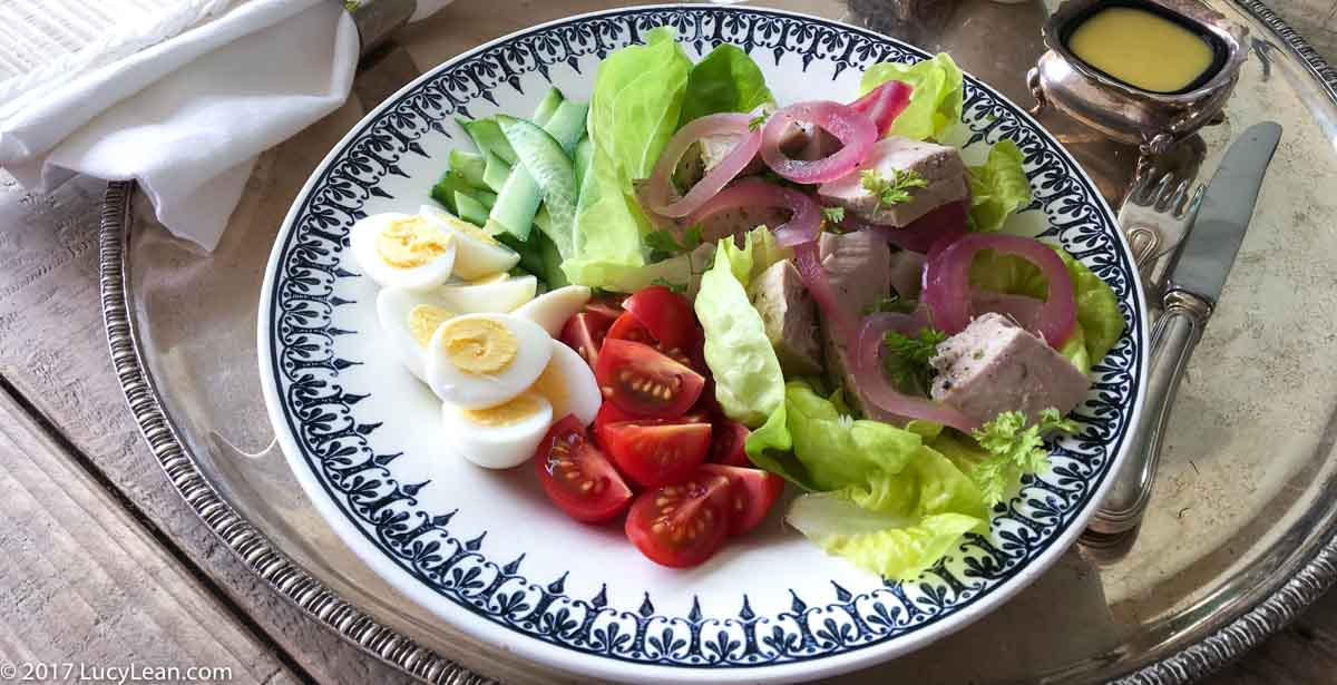 Lean Luxury Salade Niçoise with Poached Tuna   Lucy Lean